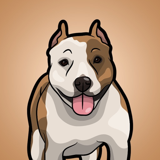 StaffordshireMoji - American Staffordshire Emoji