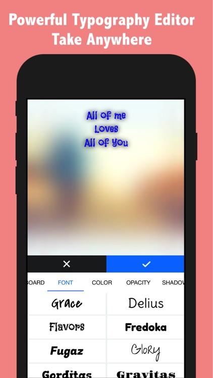 TEXTY - Text On Photo Pro screenshot-3