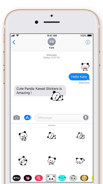 Cute Panda Kawaii Stickers