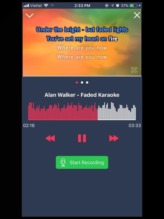 Ipad Screen Shot Karaoke 2018 - Sing & Record 0