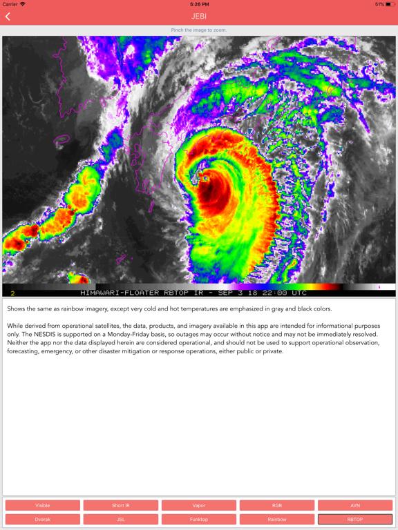Typhoon Tracker (台風 태풍 台风) screenshot 11