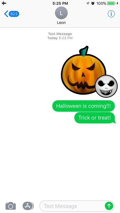 Fun Halloween Scary Sticker
