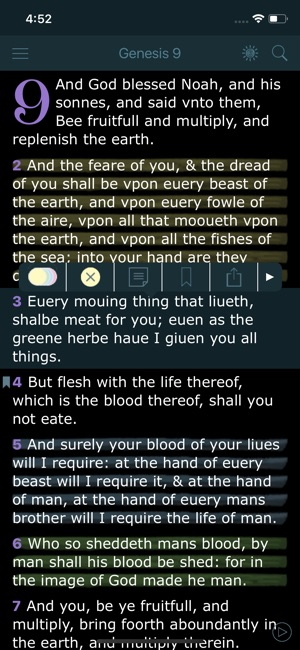 1611 King James Bible Version on the App Store