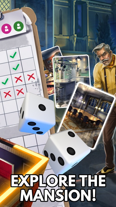 Screenshot for Clue: The Classic Mystery Game in United States App Store