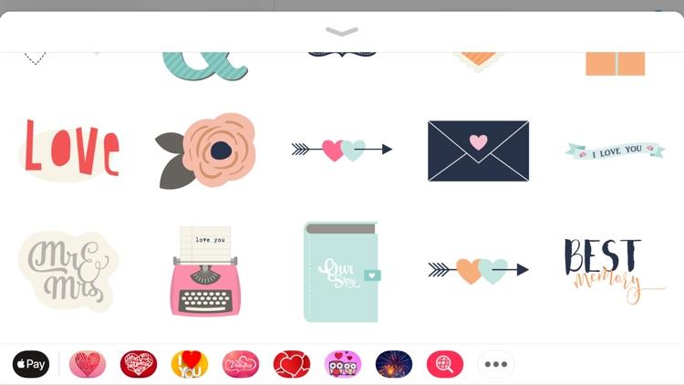 Hug Day Love Sticker for Adult screenshot-3