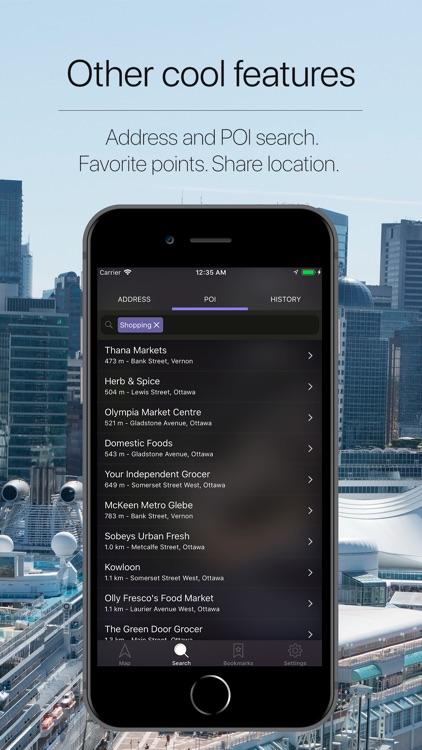 Canada Offline Navigator screenshot-4