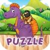 Caveman & Dinosaur Puzzle Quiz
