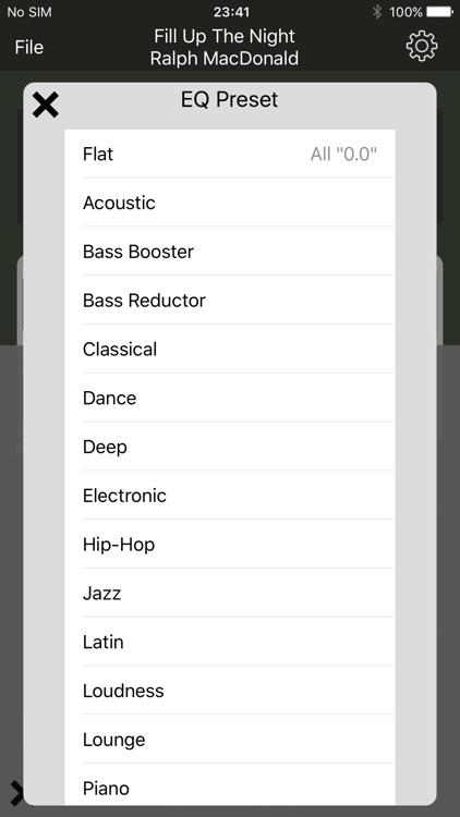 Tune Changer (Pitch,Speed,EQ) screenshot-3