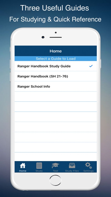Ranger Handbook & Study Guide screenshot-0