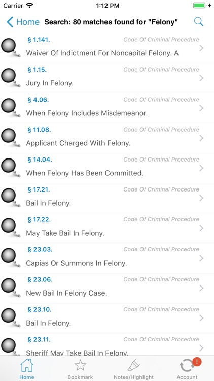 NJ Code Of Criminal Justice screenshot-7