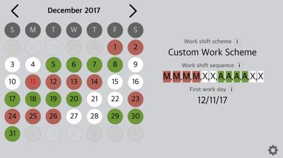 Rosta – My Shift Work Calendar screenshot two