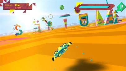 Screenshot from Geometry Race