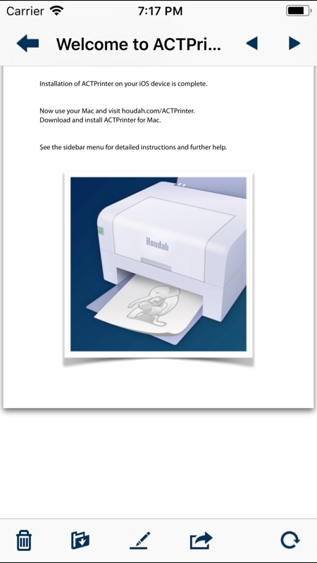 Virtual printer driver for mac