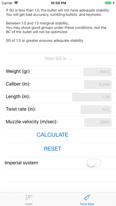 Iron sight zeroing calculator - by Michil Khodulov - Tools Category -  AppGrooves: Discover Best iPhone & Android Apps & Games
