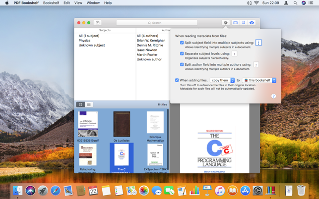 PDF Bookshelf On The Mac App Store