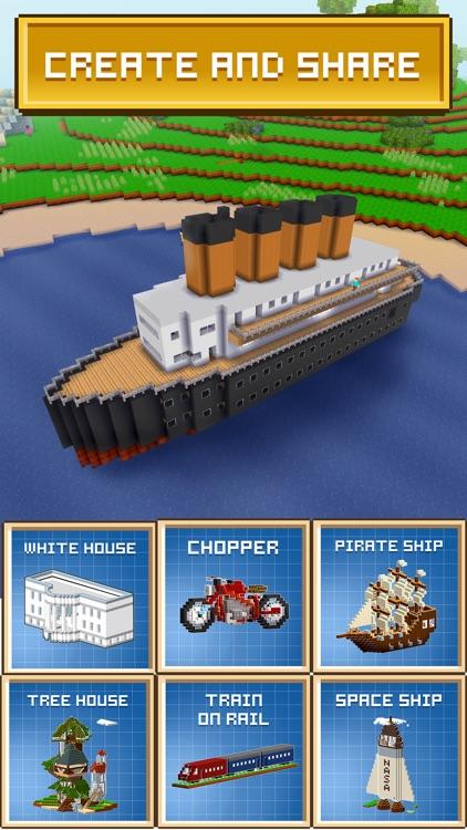 Block Craft 3D: Building Simulator Game screenshot-3