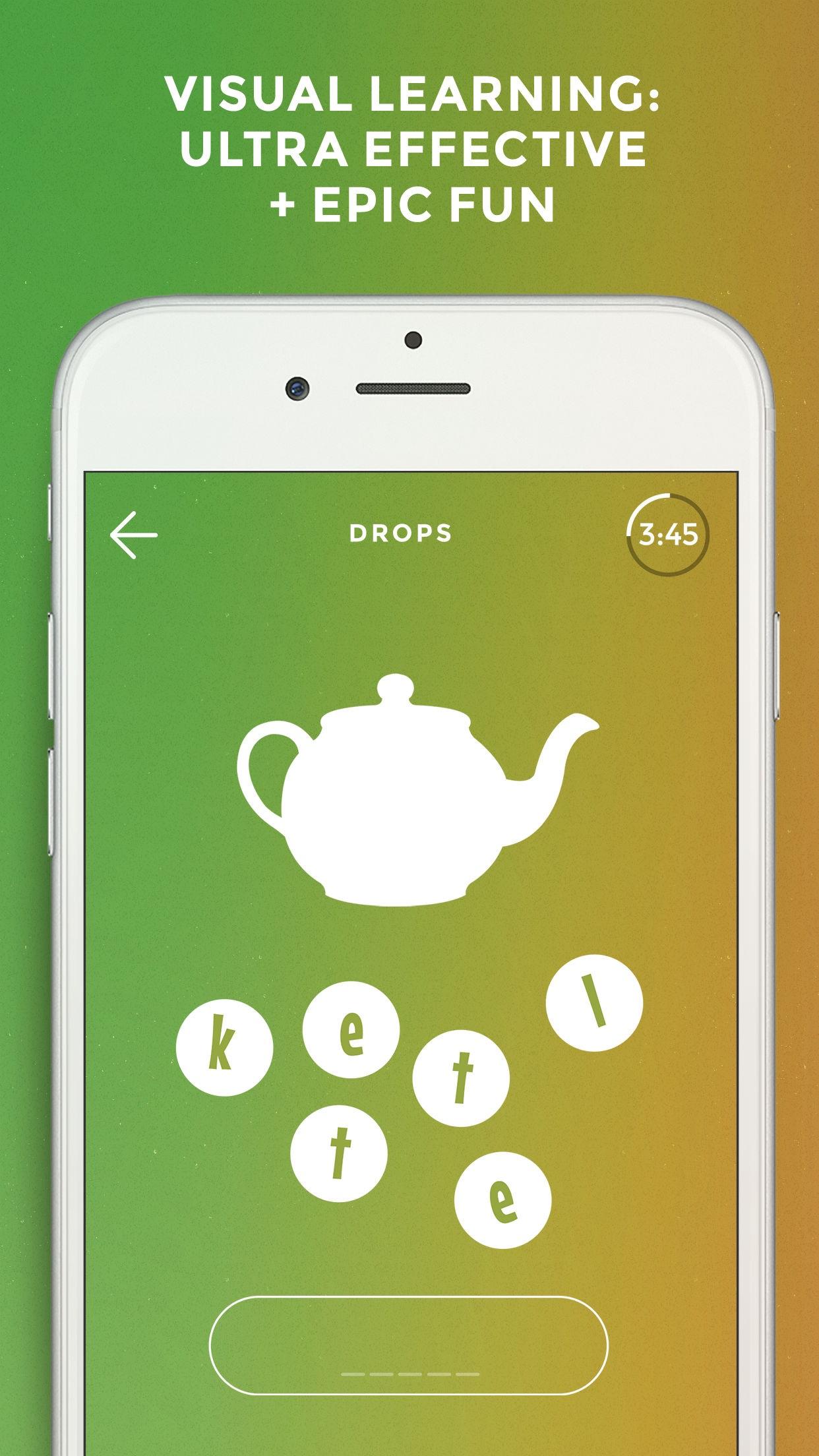 Drops: Learn 31 new languages Screenshot