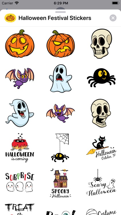 Halloween Festival Stickers screenshot-3