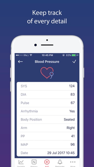 smart blood pressure app on the app store