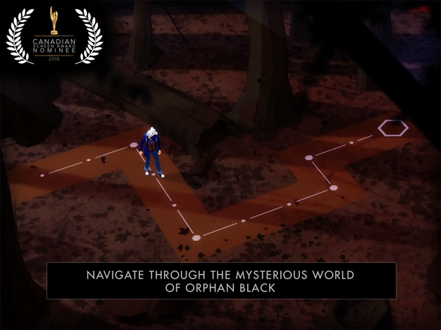Orphan Black: The Game Screenshot