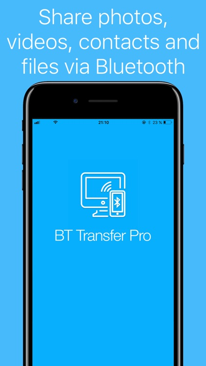 BT Transfer Pro - file, photo, video share via BT