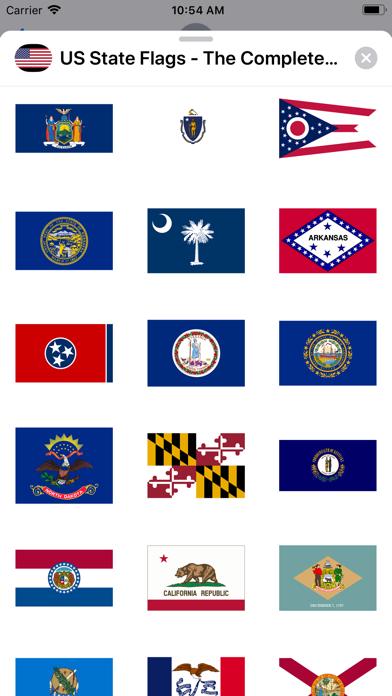 点击获取US State Flags Complete Set