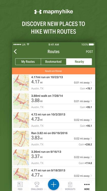 Map My Hike - GPS Hiking Tracker & Trail Finder screenshot-3