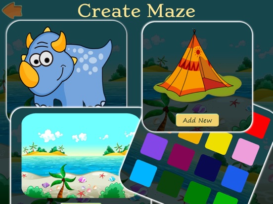 Игра Dino Maze: kids learning games
