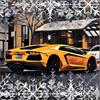 Carlos Reda - RK garage: Christmas drive pro artwork