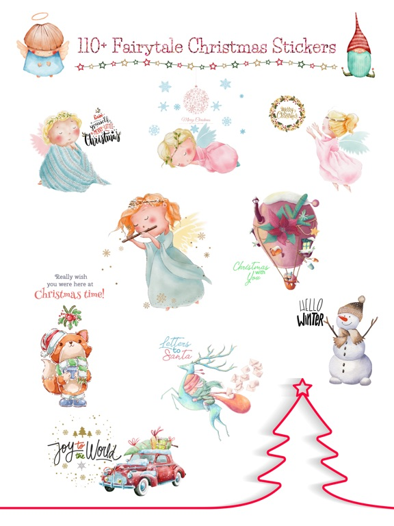 Fairytale Christmas Stickers screenshot 6
