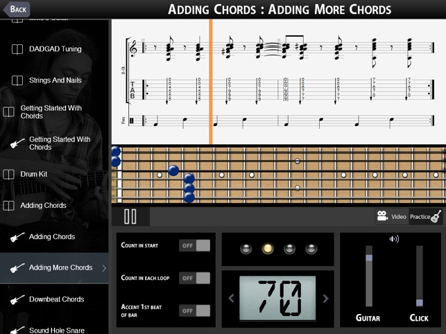 Mike Dawes Percussive Acoustic On The App Store
