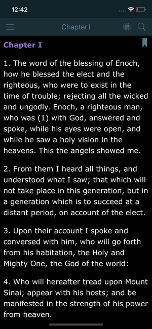 Book of Enoch and Audio Bible on the App Store