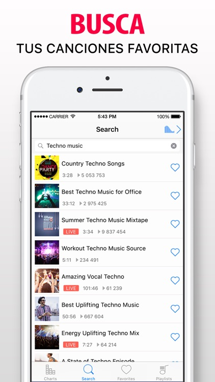 Music Now IE: Música ilimitada