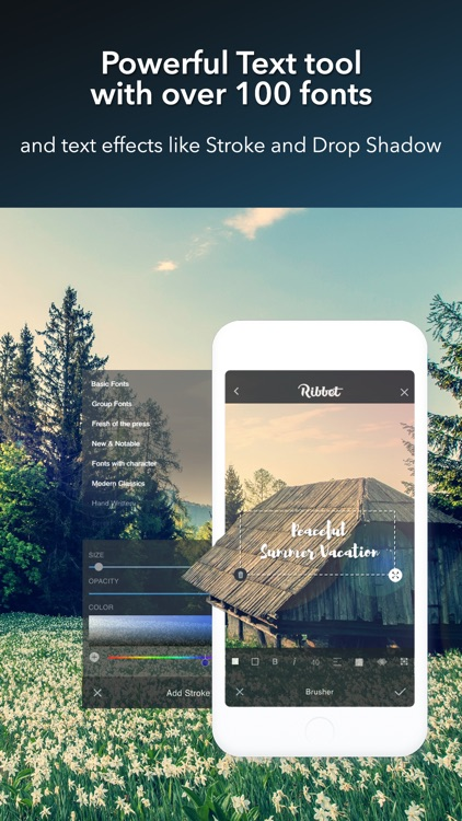 Ribbet - Photo Editor, Collage