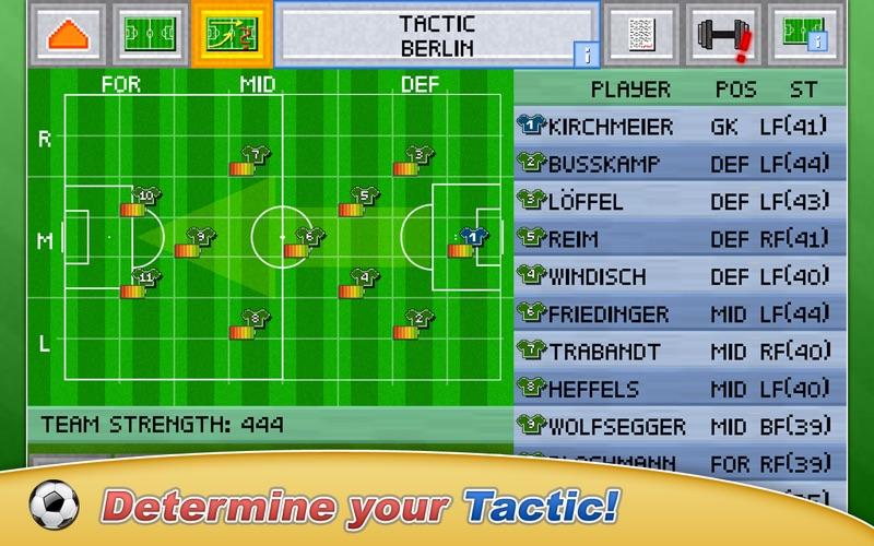 Screenshot #2 for Football Pocket Manager 2018