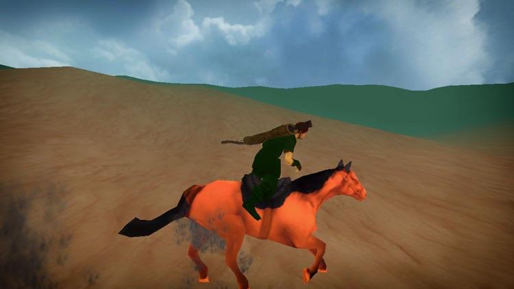 Horse Riding Archer Fight screenshot-4