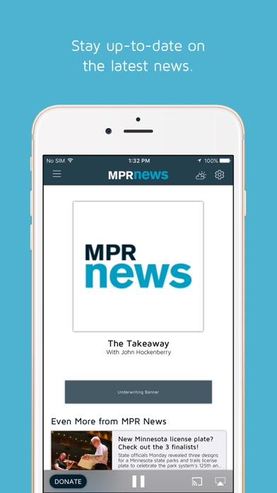 MPR Radio iPhone