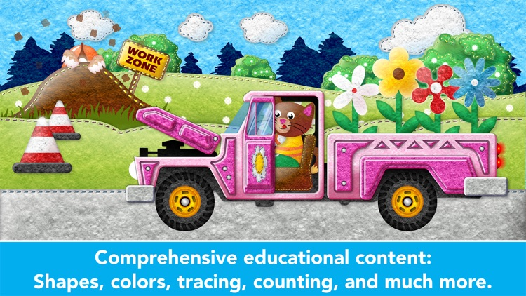 Learning Cars Educational Games for Preschool Kids screenshot-2