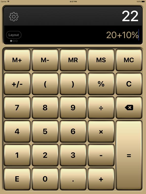 Calculator HD Pro Screenshots