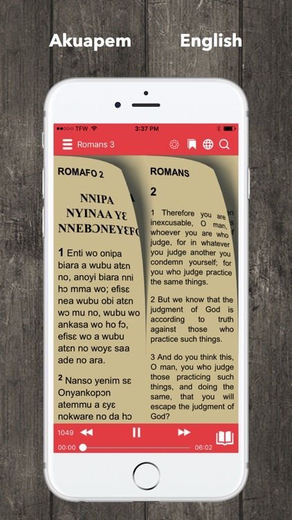 Twi Bible Akuapem Bible screenshot-1
