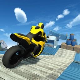 Stunt Bike Race: Tricky Track