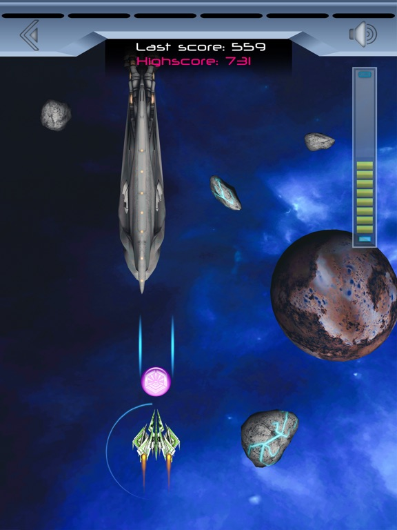 Spaceship Galaxy Flight Скриншоты7