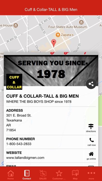 Cuff & Collar-TALL & BIG Men screenshot-4