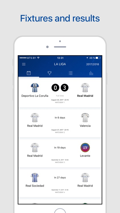 Real Live — Scores & Results screenshot-3
