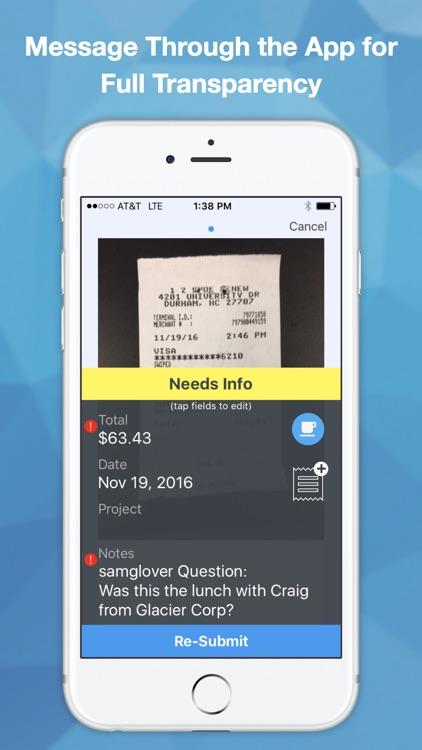 Fetch - Expense Reporting screenshot-3