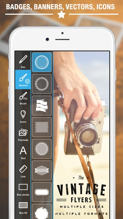 Vintage Logo & Poster Maker screenshot-2