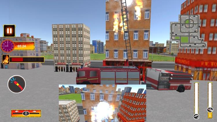 Fire Truck Driving Mission screenshot-3