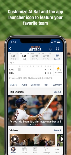 MLB At Bat Screenshot