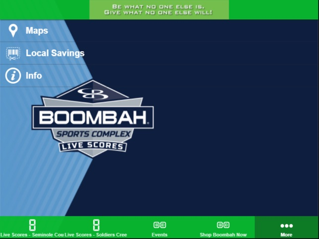 Boombah Sports Complexes on the App Store