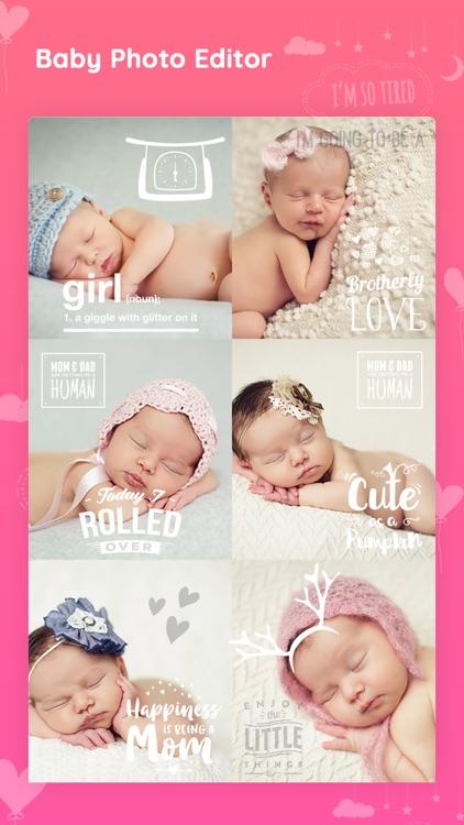 Baby photo editor & Art Maker screenshot-5